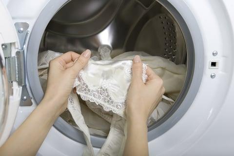 水着の洗濯