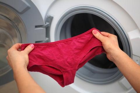 下着の洗濯