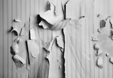 壁紙の傷み
