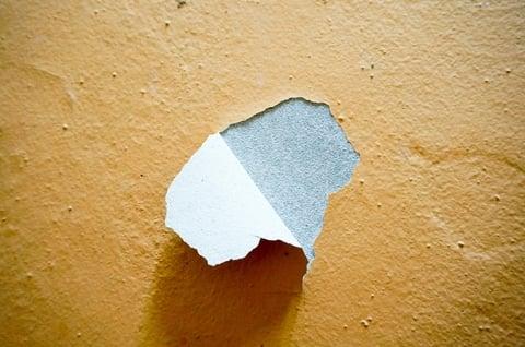 壁紙のめくれ