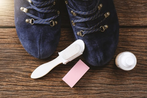 ヌバック スエード 革靴 手入れ