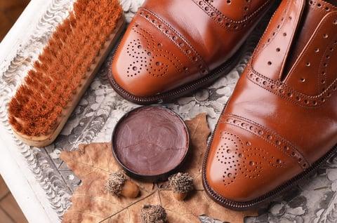 革靴 クリーム