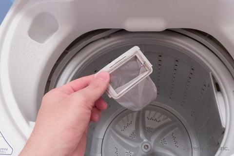 洗濯機のゴミ取りネット