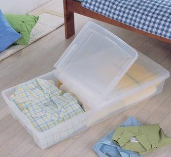 ベッド下収納ボックス 4個セット