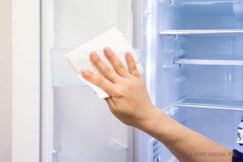 パストリーゼで冷蔵庫を掃除