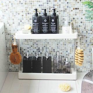 お風呂のスペースが広く使える収納・ラック「バスカウンター」