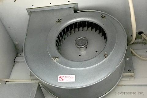換気扇のシロッコファン
