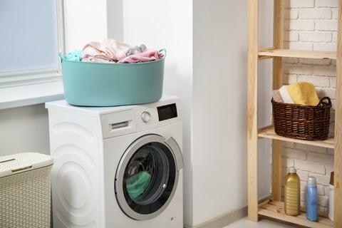 洗濯機 ランドリーバスケット 洗濯機 ラック 洗面所