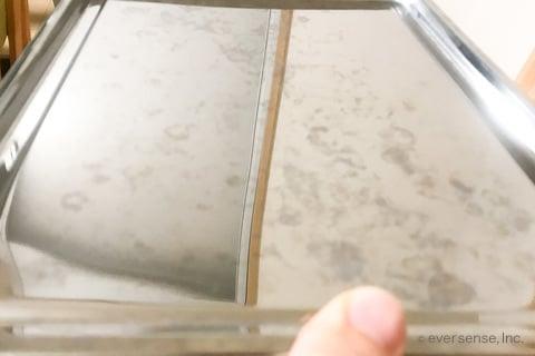 クエン酸で水垢を落とす(1回目)