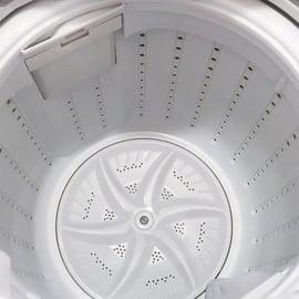 掃除後の洗濯槽