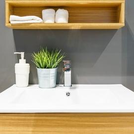 バスルーム 洗面所 ソープディスペンサー
