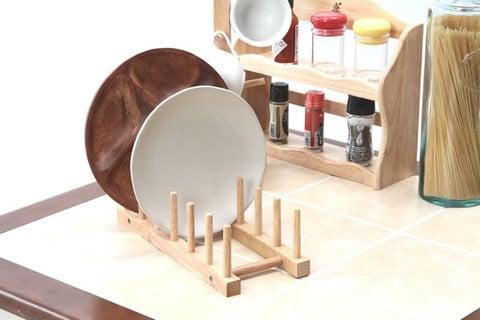 ボヌールシリーズ 木製ディッシュスタンド