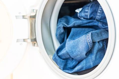 ジーンズ洗濯