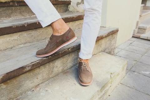 スエード 靴 男性
