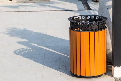 ゴミ箱 装飾