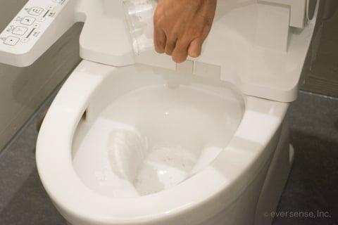 オキシウォッシュをトイレに使う