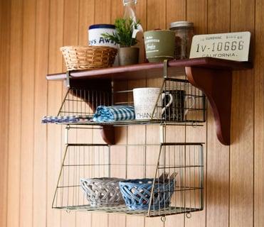 キッチン 収納 吊り戸棚