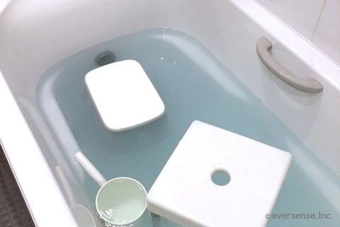 お風呂のオキシ漬け