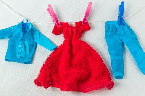 ドレス 洗濯