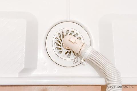 洗濯機の排水口掃除後