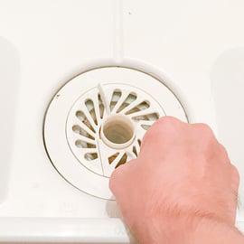 洗濯機の排水口掃除