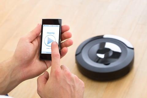 ロボット掃除機 スマートフォン 遠隔操作 連動