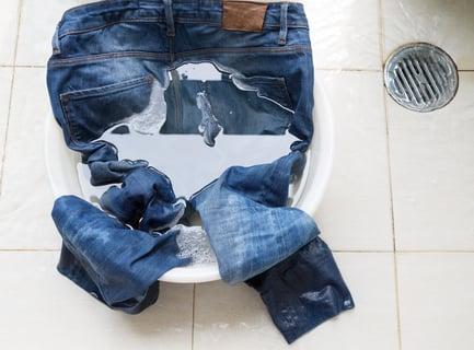 デニム つけ置き 洗剤 洗濯