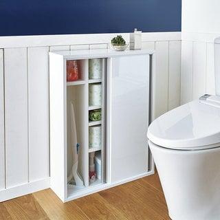 トイレ収納庫 引き戸タイプ