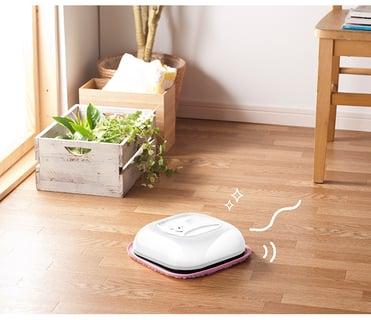 自動床拭きロボット もこもこモップん RCT−1558