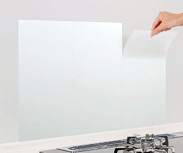 東洋アルミ キッチン壁用 汚れ防止シート