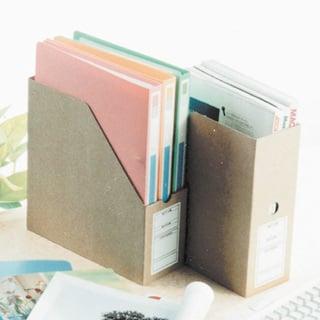 収納 ファイルボックス ファイルボックス 縦型   HA0149