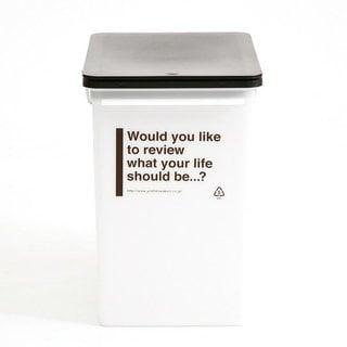 カフェスタイル プッシュゴミ箱