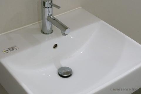 オキシクリーンで洗面台掃除