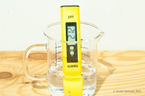 クエン酸のペーハー pH