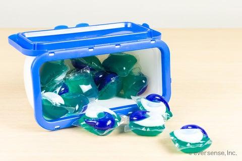 ジェルボール洗剤の粒