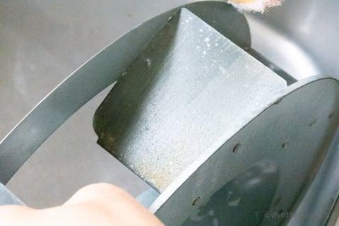 換気扇のつけおき掃除