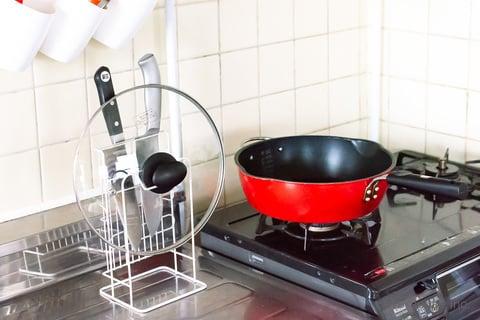 フライパン 鍋 蓋 包丁 収納