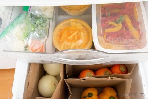野菜室 収納