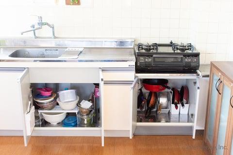 キッチン シンク下 収納