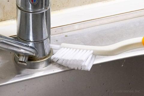 キッチンブラシ シンク 掃除