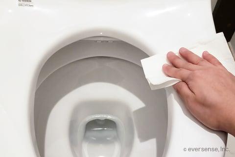 トイレ シート 掃除