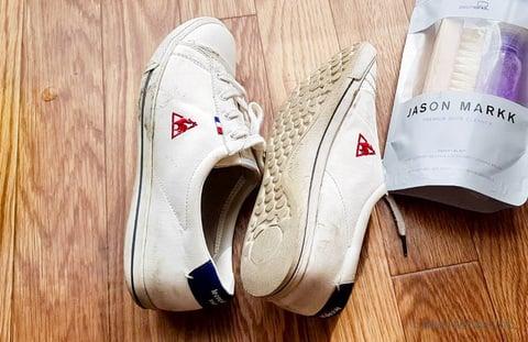 『ジェイソンマーク』で靴洗い