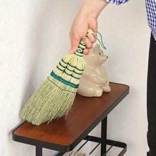 亀の子束子 手編みハンドほうき