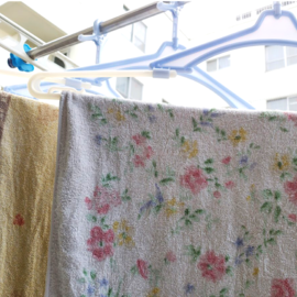 バスタオル ハンガー 洗濯