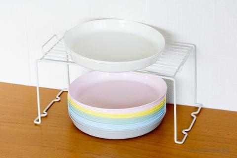 お皿 収納 100均 セリア