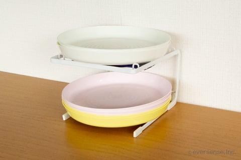 キッチン お皿 収納 ダイソー