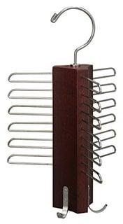 回転木製ハンガー