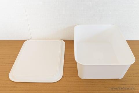 セリア ボックス 収納 白い トレイ トレー