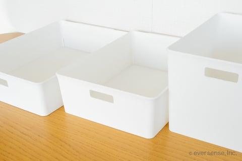 セリア 白い ボックス トレイ トレー