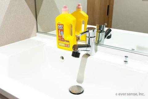 洗面所 パイプユニッシュ